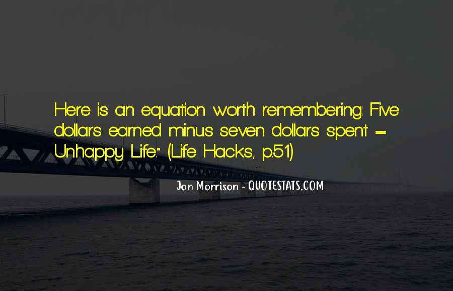 Jon Morrison Quotes #1644607