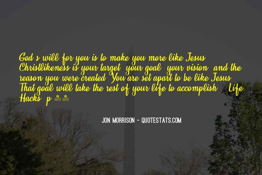 Jon Morrison Quotes #3199
