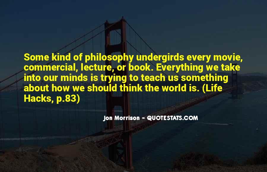 Jon Morrison Quotes #937819