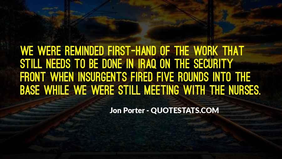 Jon Porter Quotes #1876265