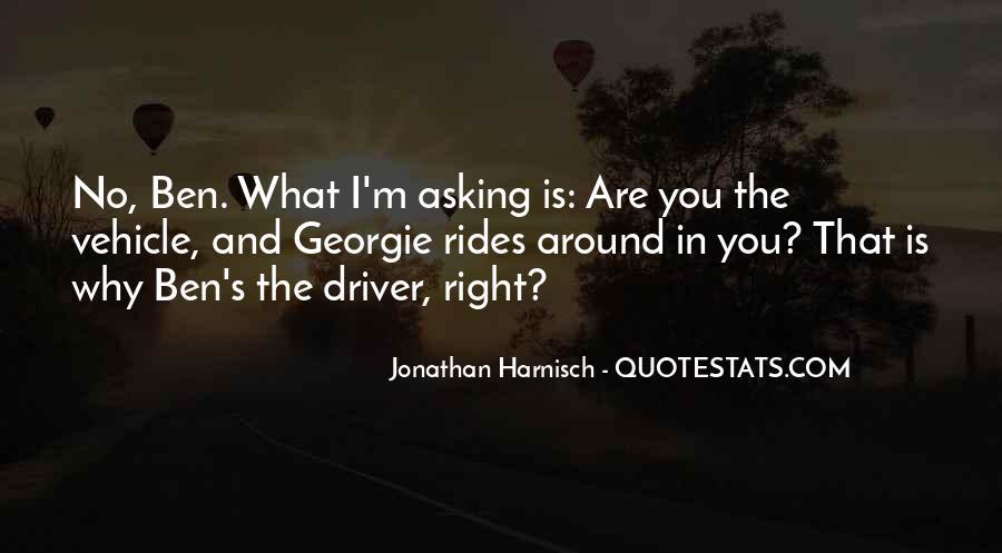 Jonathan Harnisch Quotes #5418