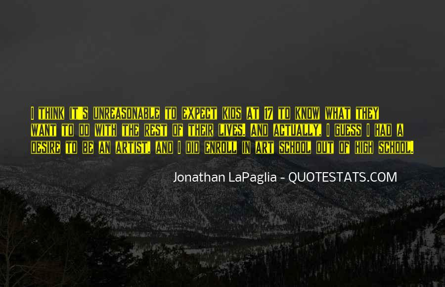 Jonathan LaPaglia Quotes #1237788