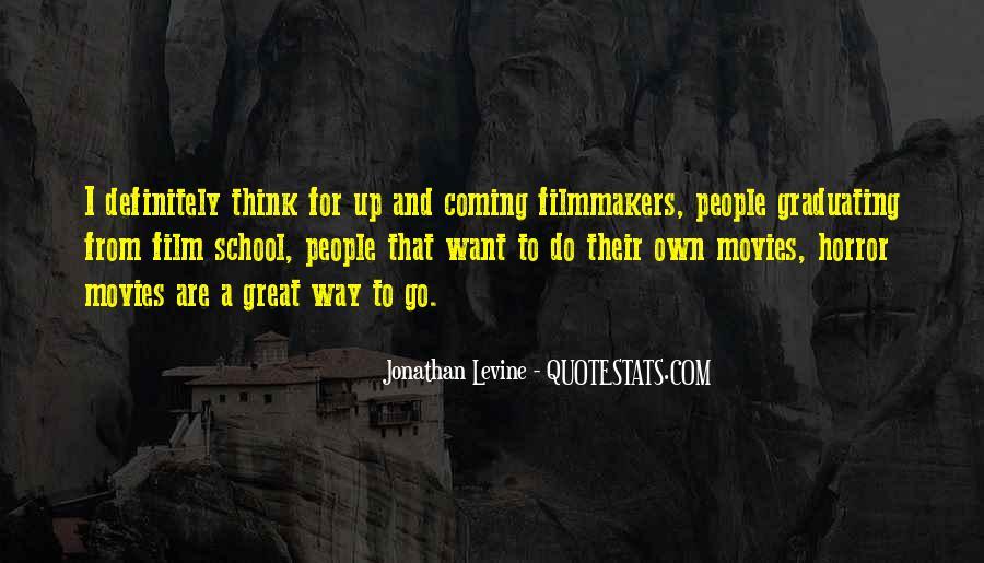 Jonathan Levine Quotes #260749