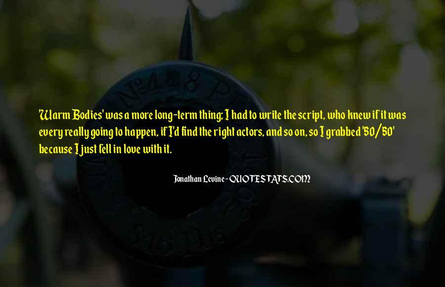 Jonathan Levine Quotes #660311