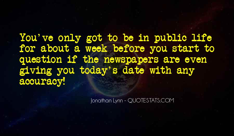 Jonathan Lynn Quotes #1590686