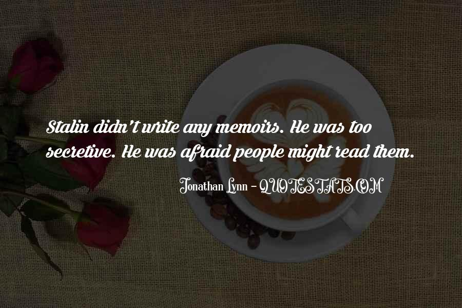 Jonathan Lynn Quotes #950907