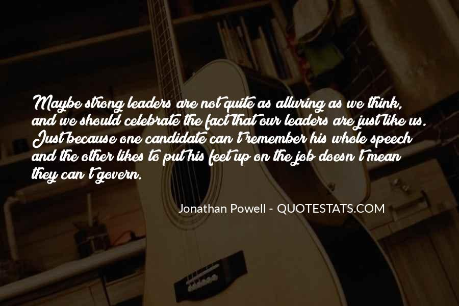 Jonathan Powell Quotes #1607526