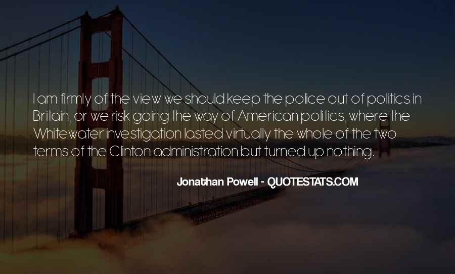 Jonathan Powell Quotes #762366