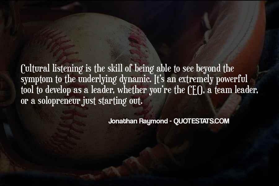 Jonathan Raymond Quotes #1477912