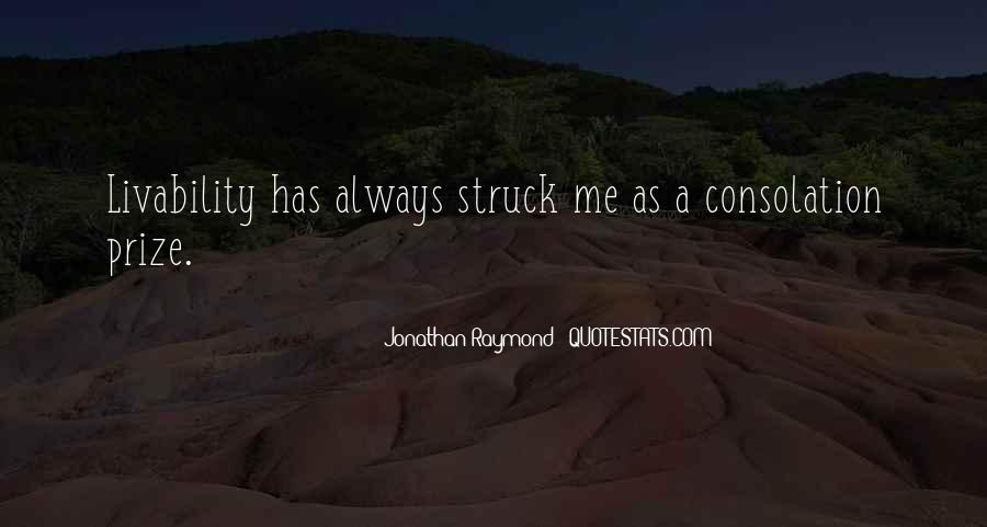 Jonathan Raymond Quotes #1676210