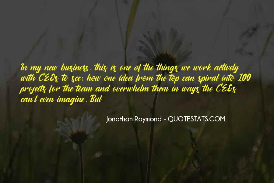 Jonathan Raymond Quotes #856009