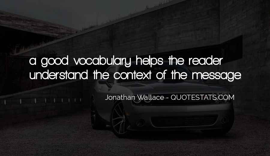 Jonathan Wallace Quotes #1248993