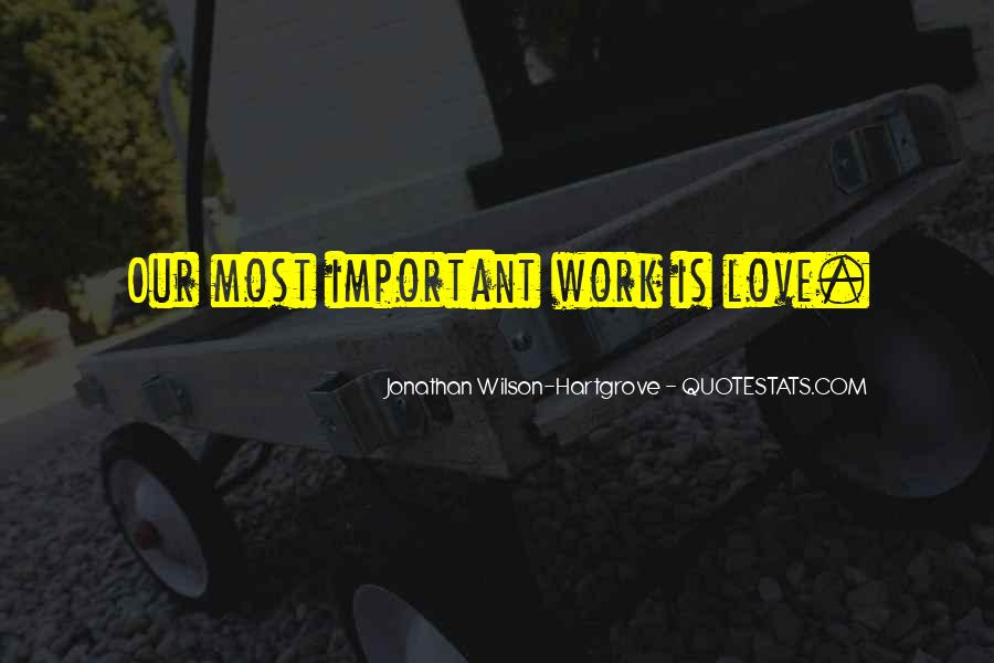 Jonathan Wilson-Hartgrove Quotes #1646027