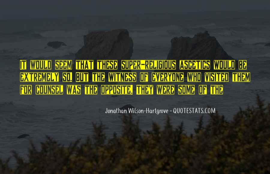 Jonathan Wilson-Hartgrove Quotes #750423