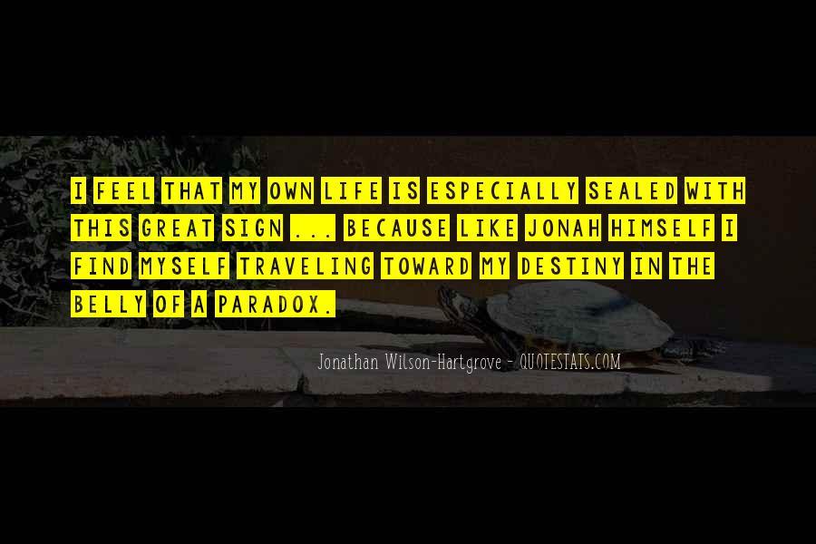 Jonathan Wilson-Hartgrove Quotes #962211