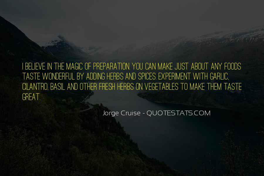 Jorge Cruise Quotes #270389