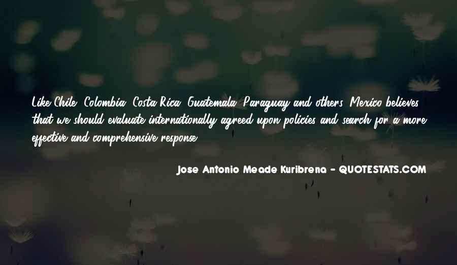 Jose Antonio Meade Kuribrena Quotes #640297