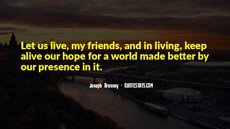 Joseph Brassey Quotes #448953