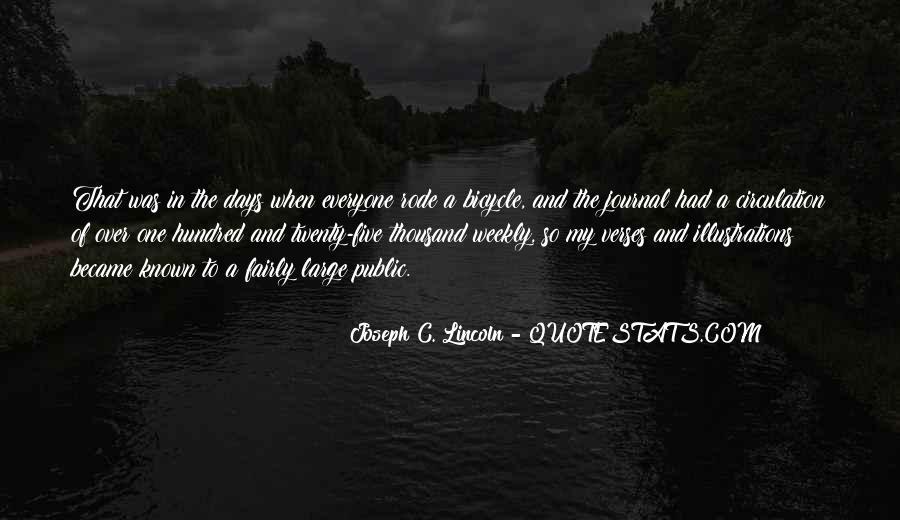 Joseph C. Lincoln Quotes #1126885