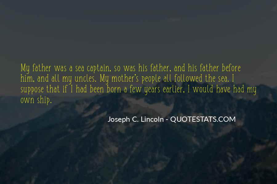 Joseph C. Lincoln Quotes #553054