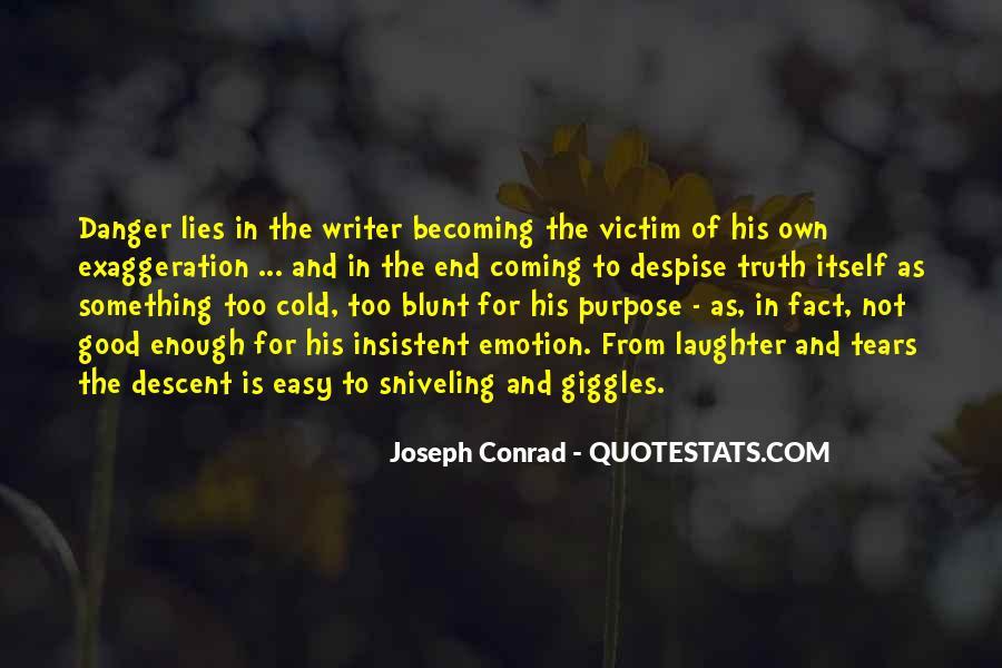 Joseph Conrad Quotes #1352414