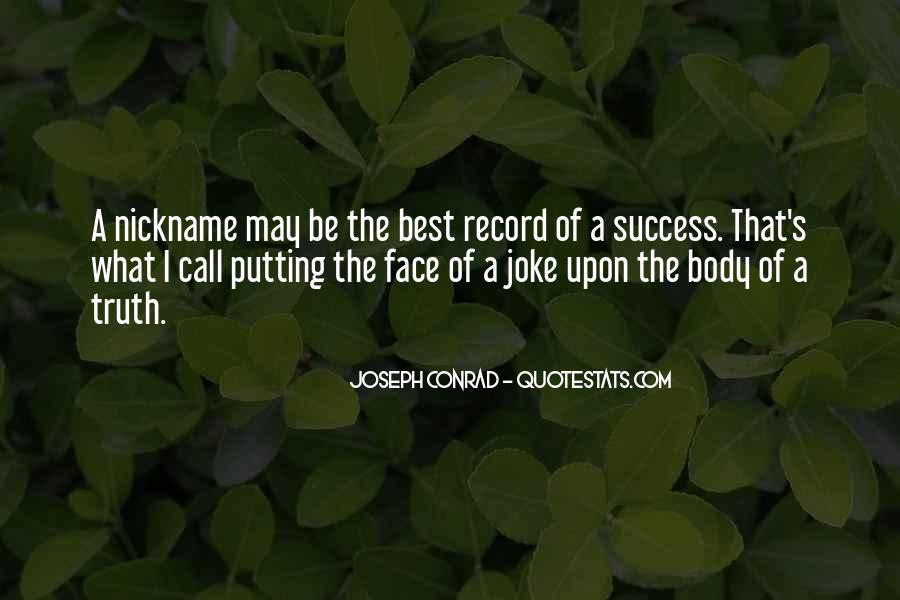 Joseph Conrad Quotes #1719609