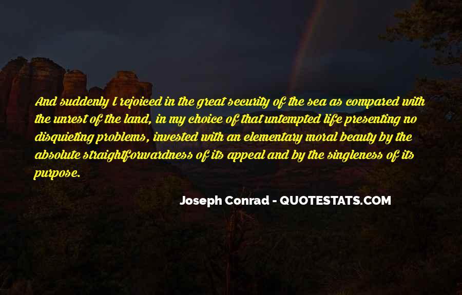 Joseph Conrad Quotes #1803542