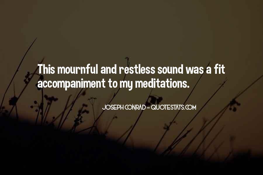 Joseph Conrad Quotes #1863337