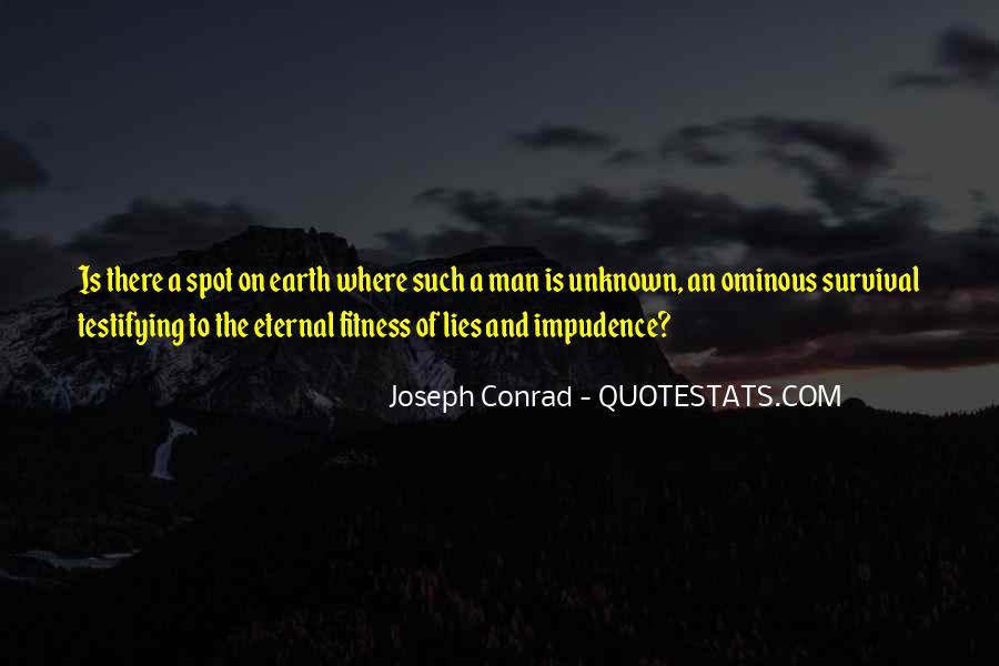 Joseph Conrad Quotes #24544
