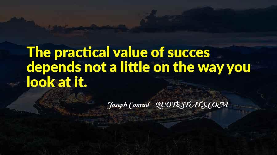 Joseph Conrad Quotes #257006