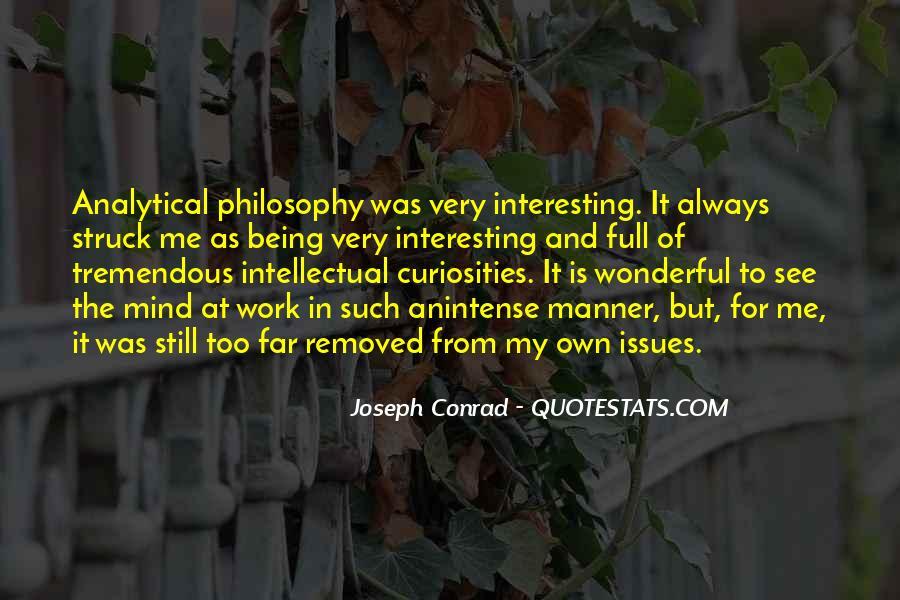 Joseph Conrad Quotes #341388