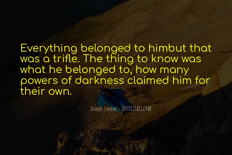 Joseph Conrad Quotes #388872