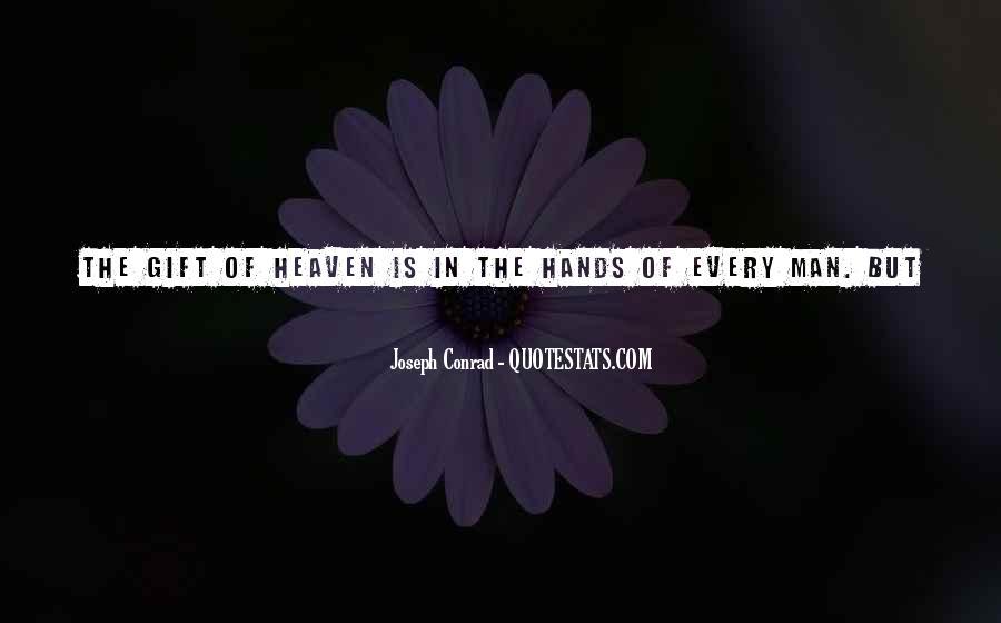 Joseph Conrad Quotes #571261