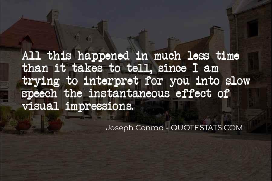Joseph Conrad Quotes #61049