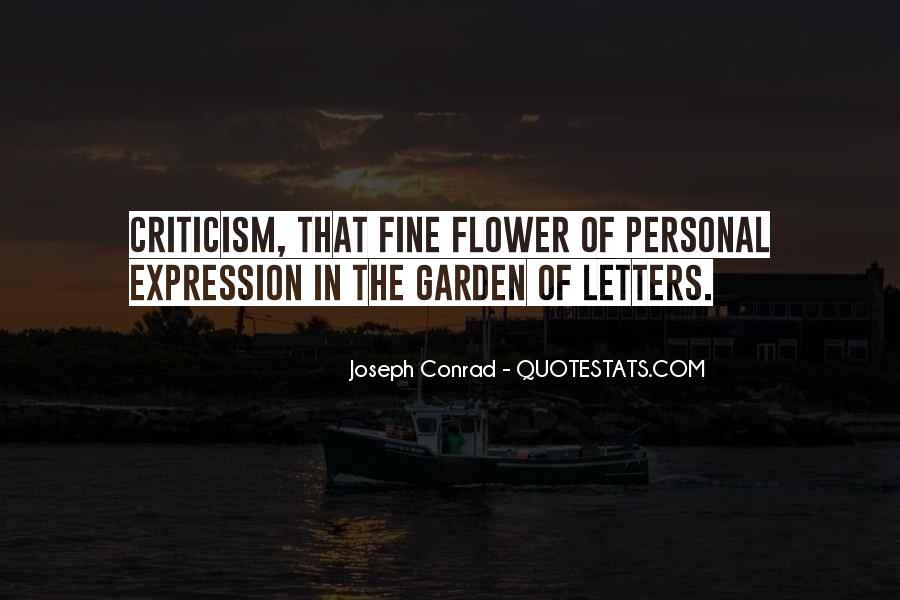 Joseph Conrad Quotes #666699
