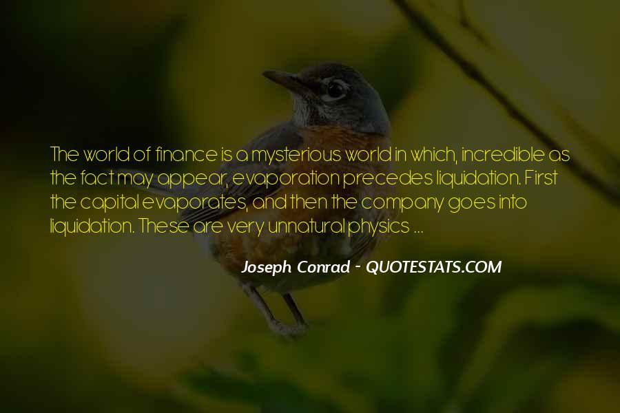 Joseph Conrad Quotes #780192