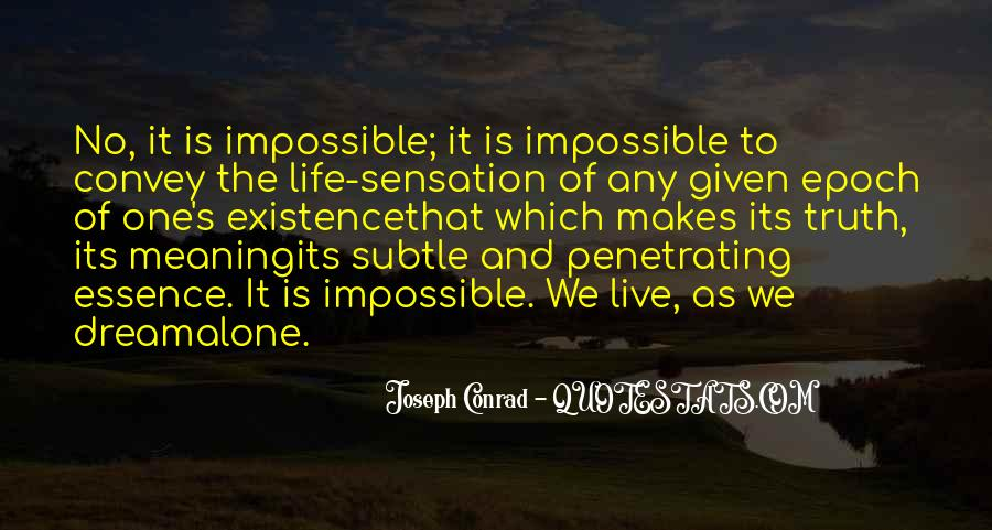 Joseph Conrad Quotes #961914