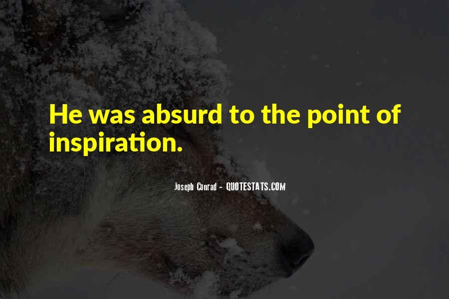 Joseph Conrad Quotes #962230