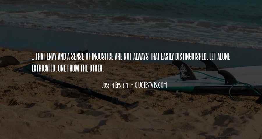 Joseph Epstein Quotes #1074458