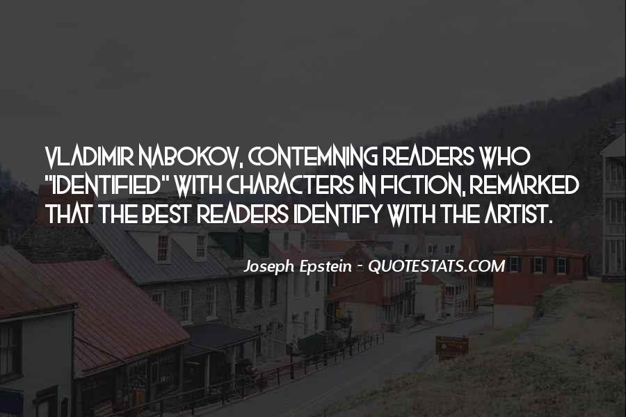 Joseph Epstein Quotes #1203372