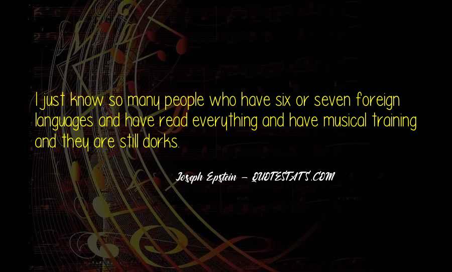 Joseph Epstein Quotes #1427579