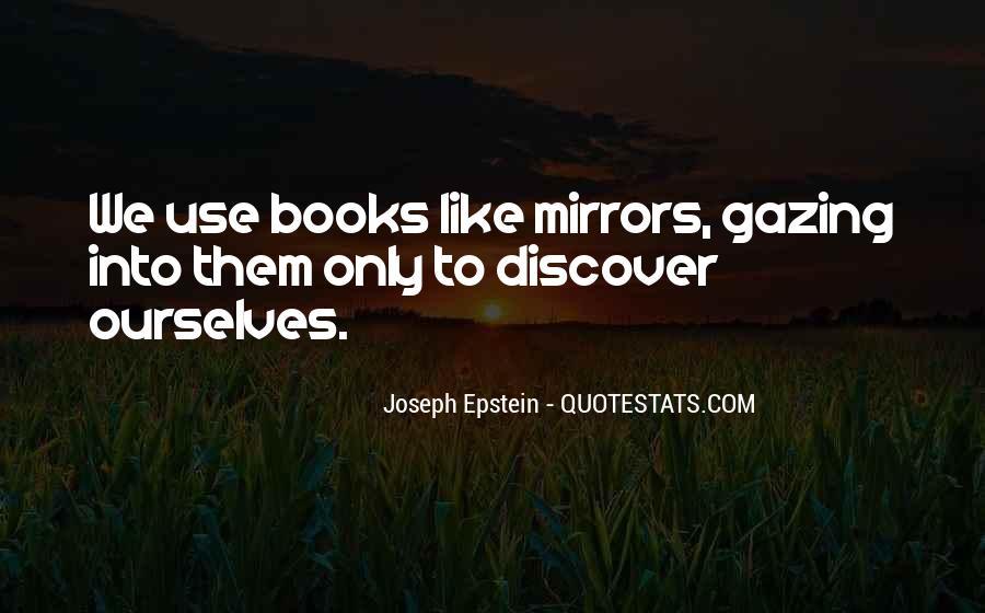 Joseph Epstein Quotes #1564046