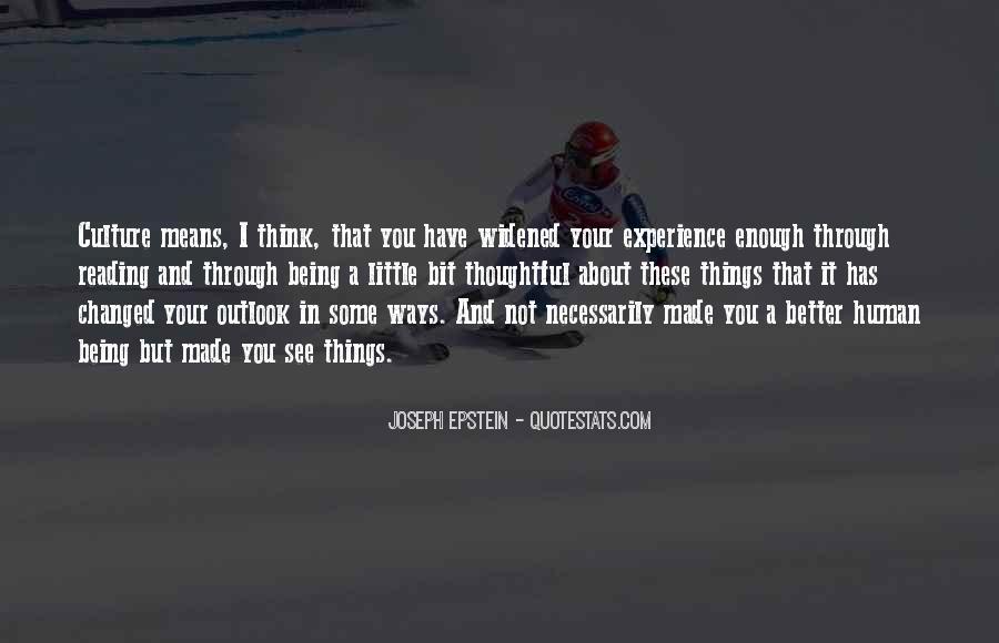 Joseph Epstein Quotes #1754982