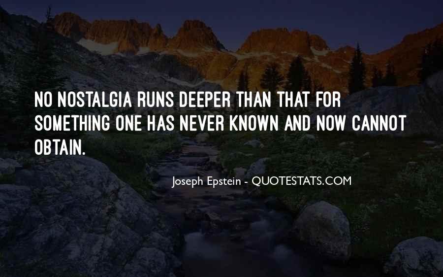 Joseph Epstein Quotes #1797552