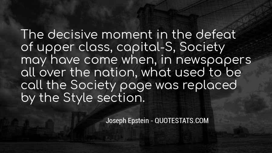 Joseph Epstein Quotes #1803414