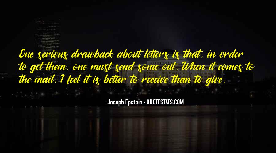 Joseph Epstein Quotes #329127