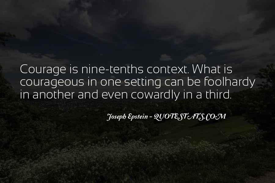 Joseph Epstein Quotes #441418