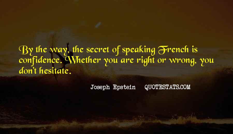 Joseph Epstein Quotes #478177