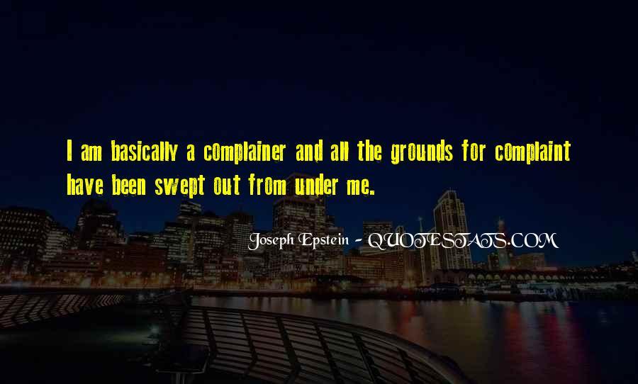Joseph Epstein Quotes #530555