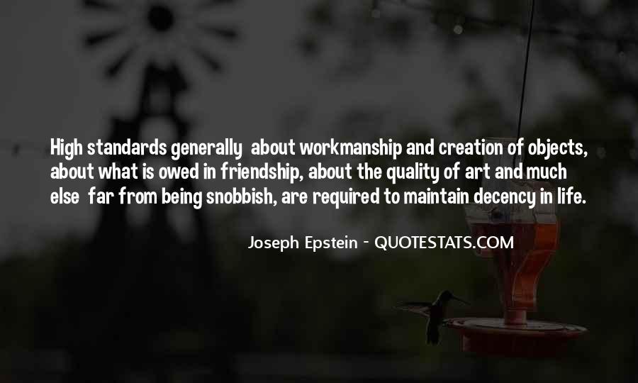 Joseph Epstein Quotes #753152